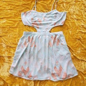 Light aqua PacSun dress